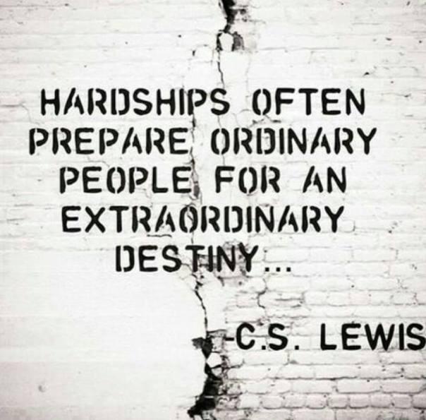 cs lewis hardships